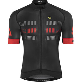 Alé Cycling Graphics PRR Strada Short Sleeve Jersey Men black-red